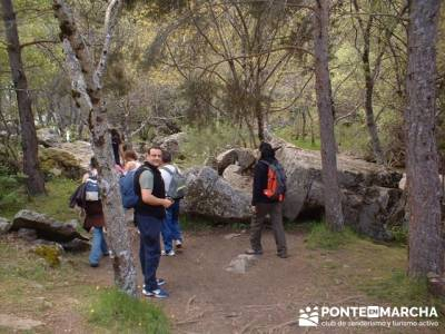 Cascadas del Purgatorio - Excursiones desde Madrid; bosque de irati rutas; excursiones de fin de sem